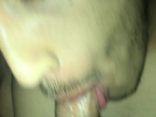 Face fucked him and made him swallow my Load (cum shot)